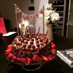 Birthday bunting cake topper - simple tutorial