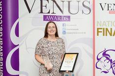 Owner Christine receives the Venus National Award for Best Online Business 2015!