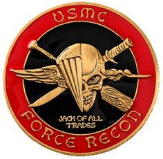 U.S. Marine Corps; Force Recon...Thank You All!