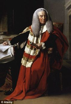 Lord Mansfield (William Murray) was a barrister whose rulings changed the rights of slaves. He owned and lived in Kenwood Hse. Him and his wife were childless.