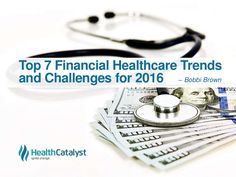 Healthcare financial leaders will encounter a myriad of challenges and improvement opportunities in This year will force health system financial leadersh… Health Care, Challenges, Trends, Marketing, Top, Crop Shirt, Shirts, Beauty Trends, Health