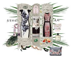 Oriental Business by airrazor23 on Polyvore featuring polyvore fashion style Karen Millen Little Mistress Phase Eight Nine West Gucci Ted Baker Kenneth Jay Lane Accessorize Miller Harris Wild & Wolf clothing
