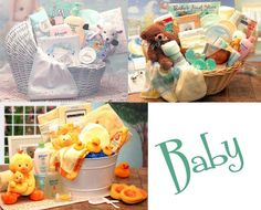 Awesome looking gift baskets, love the duckies. (La Bella Baskets)