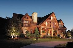 Plan W59002ND: Mountain, Photo Gallery, Vacation, Log House Plans & Home Designs