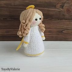 Crochet Angel Pattern, Crochet Angels, Crochet Animal Patterns, Amigurumi Patterns, Cute Crochet, Crochet Crafts, Crochet Dolls, Crochet Projects, Crochet Batman