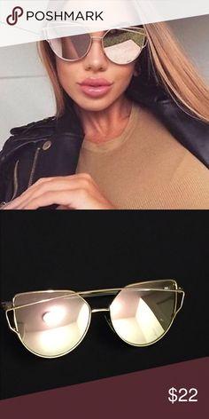 ba83bc0569 Rose Gold Sunglasses Rose Gold Fashion Sunglasses New Trendy Fashion  Sunglasses Perfect for Summer ! ✨