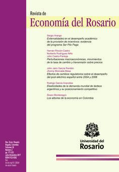 La revista Economía del Rosario es una revista académica con evaluación de pares, dedicada a publicar artículos inéditos derivados de investigaciones, de alta calidad teórica, empírica, aplicada, o dedicadas al estudio de implicaciones de política económica en cualquier área de economía.