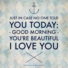 Just in case. You are beautiful. #iLove4eversisterhood