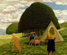 DAVID INSHAW The Camp on the Downs, 1982