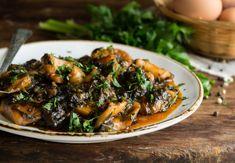 Σουπιές με Χόρτα Συνταγές Seafood, Beef, Sea Food, Meat, Steak, Seafood Dishes