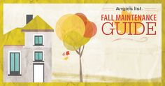 Fall home maintenance checklist.  Download the PDF and keep track as you go!
