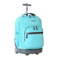 J World® Sunrise Rolling Backpack