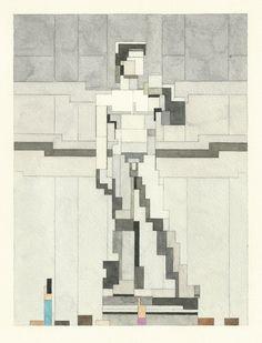 Statue of David. © Adam Lister. http://www.yatzer.com/adam-lister