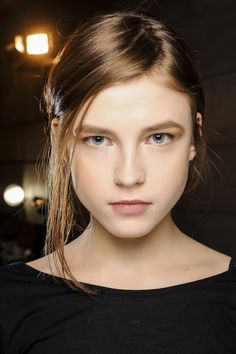 Victoria Beckham Fall 2013 Ready-to-Wear Fashion Show Beauty