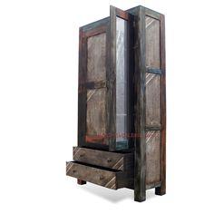 Moderner Schrank m. Spiegel Industrial Shabby Chic Design - absolut Vintage Top in Möbel & Wohnen, Möbel, Schränke & Wandschränke | eBay