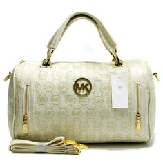 Michael Kors Quilted Flap Large Beige Satchels : Michael Kors Outlet, Michael Kors Outlet,Big Promotion,High quality!