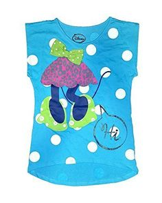 Disney Minnie Mouse Headless Polka Dots Tee Shirt