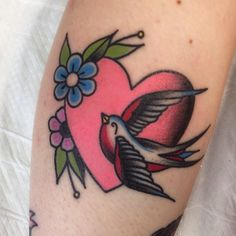 Another healed photo of Eloise's tattoo. @eloiseburtonn