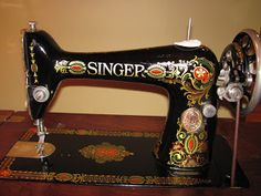 "1916 Singer Model 66-1 ""Red Eye"" Treadle Sewing Machine"