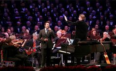 Christmas Gigging in Logan Utah. Conducting the American Festival Orchestra and Choir and soloist Nathan Pacheco.