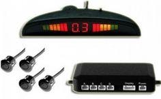 Senzori parcare pentru toate marcile auto, display digital cu led-uri si patru senzori de parcare, la 80 RON in loc de 191 RON  Vezi mai multe detalii pe Teamdeals.ro: Reduceri - Senzori parcare pentru toate marcile auto, display digital cu led-uri si patru senzori de parcare, la 80 RON in loc de 191 RON | Reduceri & Oferte | Teamdeals.ro Digital Alarm Clock, Display, Led, Decor, Motorbikes, Floor Space, Decoration, Billboard, Decorating