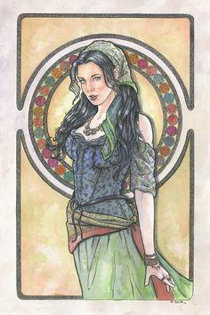 Art Nouveau 10 by ssava.deviantart.com on @DeviantArt