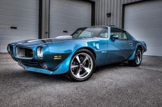 '71 Blue Pontiac Trans Am Beauty!!