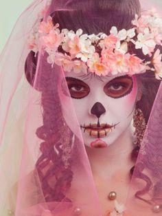 Dia De Los Muertos makeup...