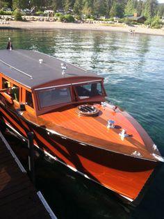 Wild Goose II Classic Woody Boat