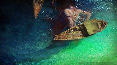 ArtStation - Mermaid, adaptação 3D de Alla Chernova, conceito original de Sergey Kolesov, Alla Chernova