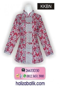 Ideas Diy Fashion Clothing No Sew Dresses Blouse Batik, Batik Dress, Dress Neck Designs, Blouse Designs, Batik Muslim, Short Shirt Dress, Diy Fashion No Sew, High Collar Blouse, Myanmar Dress Design