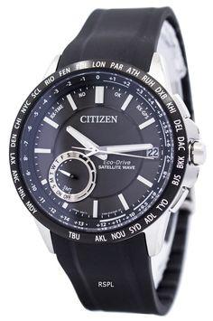 Citizen Eco-Drive Satellite Wave World Time GPS CC3005-00E Mens Watch