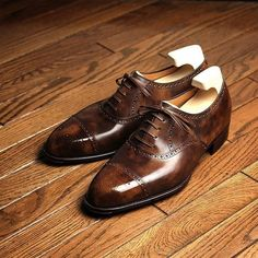 Heritage Collection / Guethe  #yoheifukuda #bespokeshoes #heritage #collection #antique #patina #leather #house #style #madeinjapan #thankyou #photo #tokyo #japan
