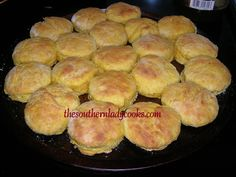 If you like pumpkin, you will love these biscuits. They are light and fluffy and wonderful with butter and honey or molasses. 2 cups self-ri...