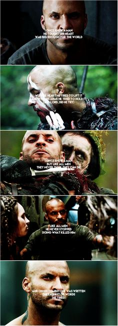 Lincoln || The 100 || Ricky Whittle