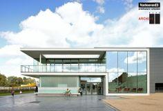 Sport Facilities De Warande in Wetteren / Venhoeven CS in collaboration with BURO II & ARCHI+I