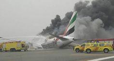 VIDEO: Avión con 300 personas a bordo estalla tras aterrizar