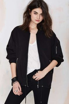 Cheap Monday Boom Bomber Jacket | Shop Clothes at Nasty Gal!