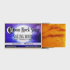 Moon Rock, Sailing, Soap, How To Make, Products, Candle, Bar Soap, Soaps, Gadget