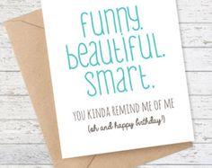 af6843e9b3a4 Birthday Card Funny Boyfriend Card Funny by FlairandPaper More Funny  Birthday Cards