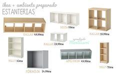 Aprendiendo con Montessori: Ikea+Espacios Montessori