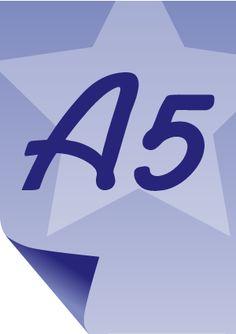 A5 sheet of paper