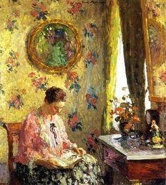"Julius Garibaldi ""Gari"" Melchers (1860-1932) Lady Reading"