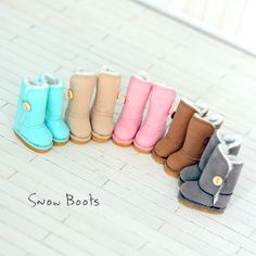 Blythe Doll Boots/ DAL / Pullip Shoes / Momoko / by sunnybobo, $17.99
