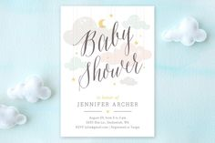Shower Mobile Baby Shower Invitations by Heather Francisco at minted.com