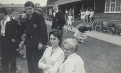 Sports Day at Olton - 1960 - L>R: Miss Williams, Unknown.