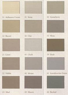 Colour palette. Painting the Past, NL