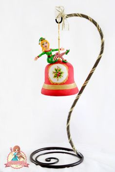 Jingle Bell Hanging Cake - Cake by SweetLin