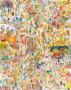 ILLUSTRATION — Brecht Evens Film Rio, Brass Band, Magritte, Art Design, Creative Design, Art Lyrique, How To Make Drawing, House Illustration, Animation