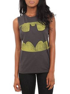DC Comics Batman Deep Sleeve Girls Tank Top | Hot Topic